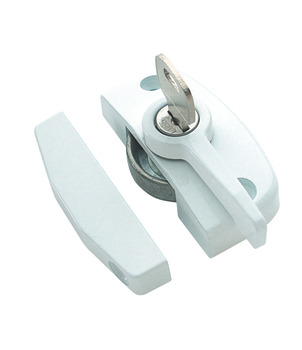Window Lock, Sash, Sliding, Diecast Zinc Alloy, Cam-Lok
