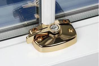 Window Lock, Sash, Sliding, Diecast Zinc Alloy, High Security Cam-Lok