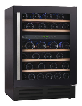 Wine Cabinet, Dual Temperature, 46 Bottle Capacity, Candy