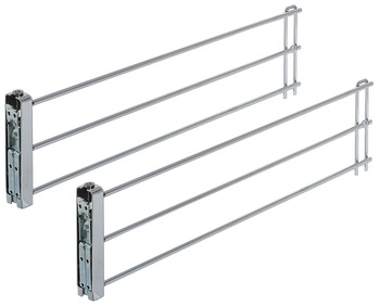 Wire Drawer Side Rails, for External Drawer Fronts