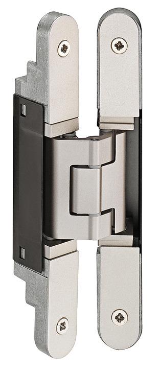 3d Hinge 180 176 Aluminium Zinc Diecast And Steel Tectus