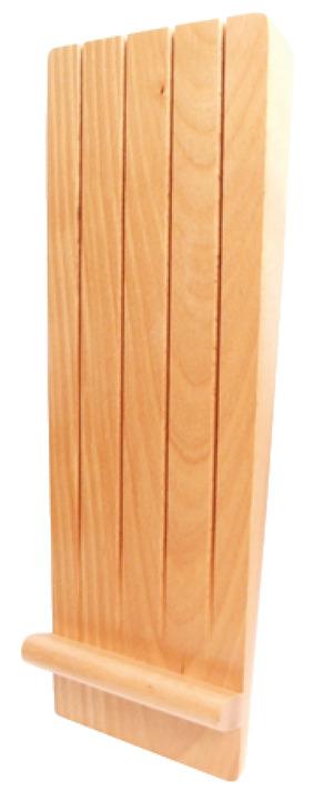 Beech Knife Block Insert For Drawer Depth 450 500 Mm