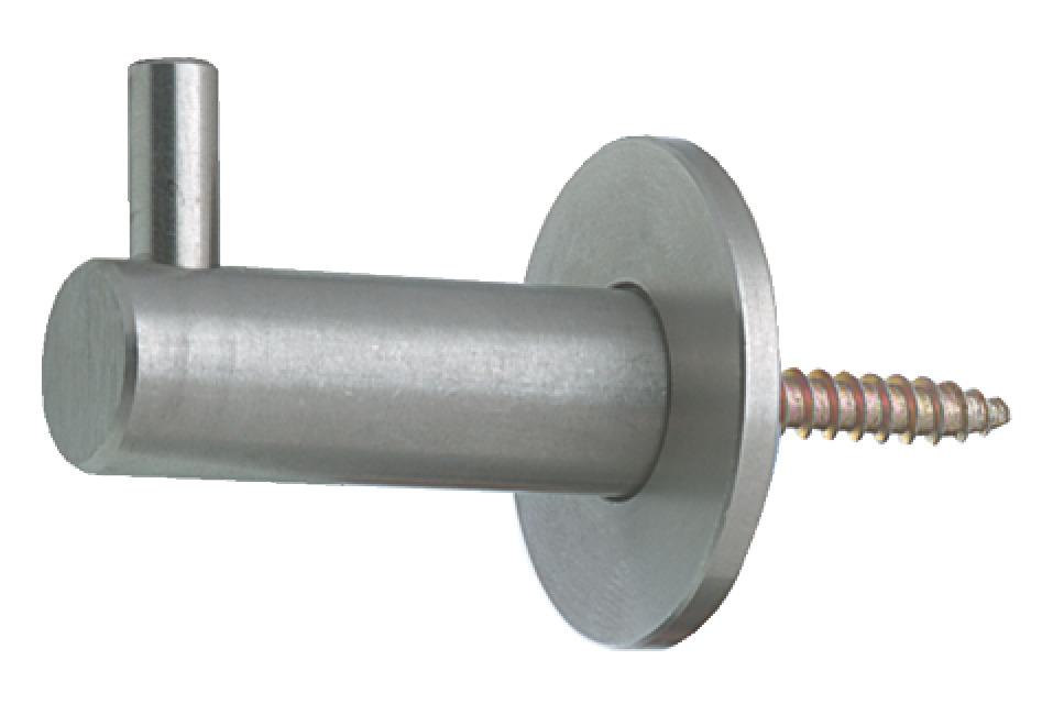 Coat Hook, Grade 316 Stainless Steel, 42 x  35 mm