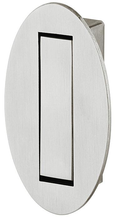 Coat Hook, Stainless Steel, 28 x 60 mm