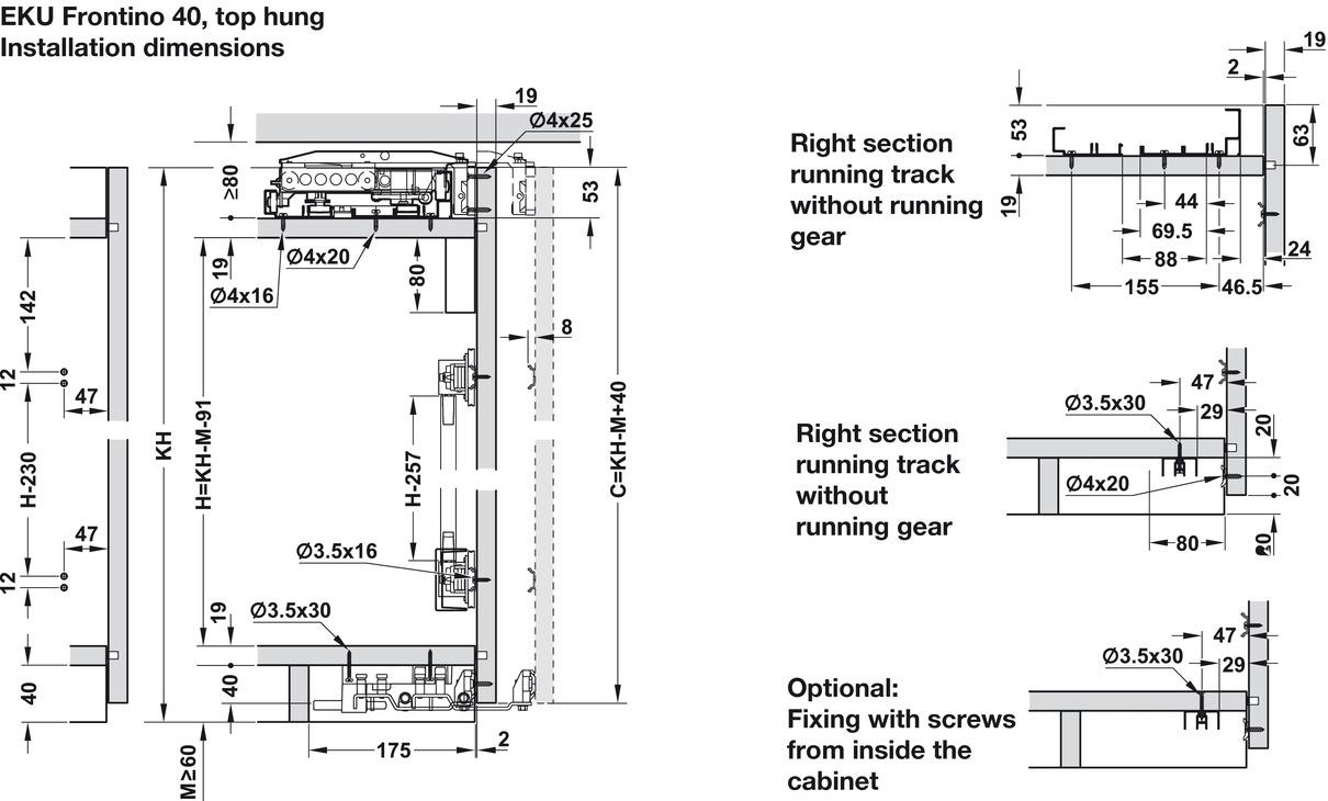 sliding wardrobe doors fitting instructions
