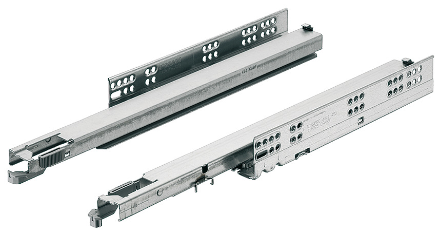 Concealed Drawer Runners Full Extension Dynapro 40 Kg