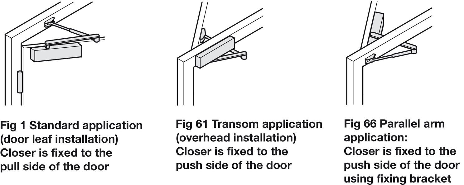 door closer overhead cast aluminium body geze ts 1500 h fele u k shop. Black Bedroom Furniture Sets. Home Design Ideas