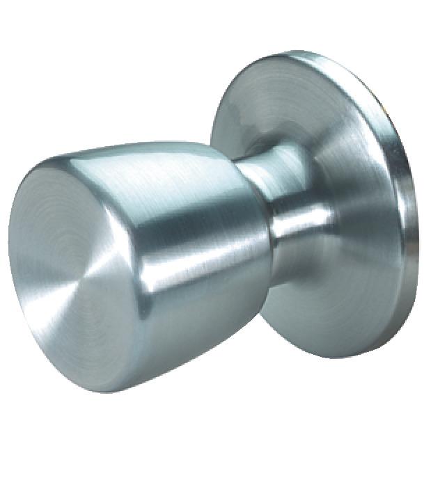 dummy door knob steel