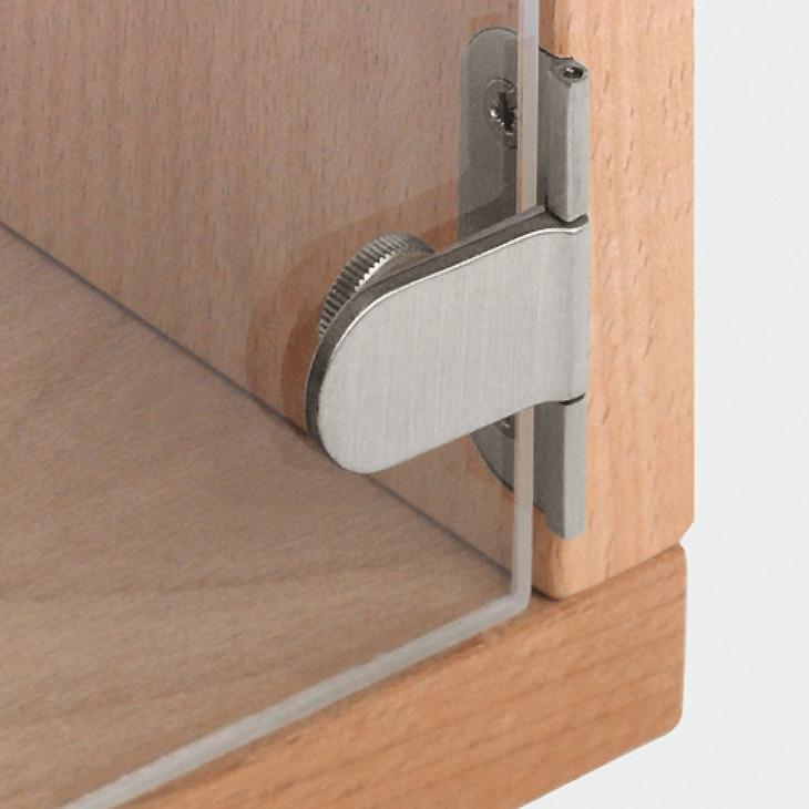Glass door hinge 180 for 6 mm glass thickness hfele uk shop matt nickel plated planetlyrics Images