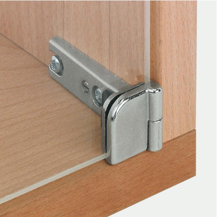 Glass door hinge 180 sprung for inset doors h fele u for 180 hinge door