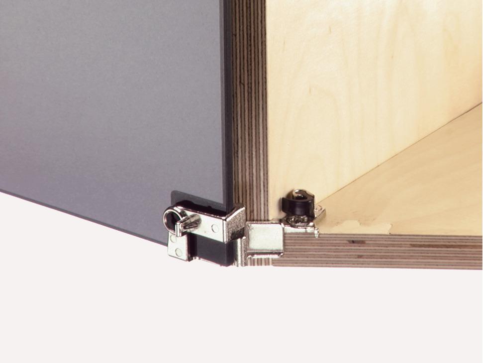 Glass Door Hinge 210 For Overlay Doors With Catch Hfele Uk Shop