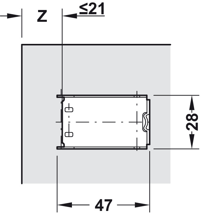 Mirror Door Hinge 128 176 For Double Sided Mirror Doors 3 8