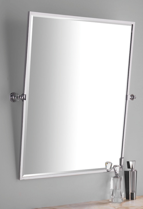 Frameless Rectangular Bathroom Mirror