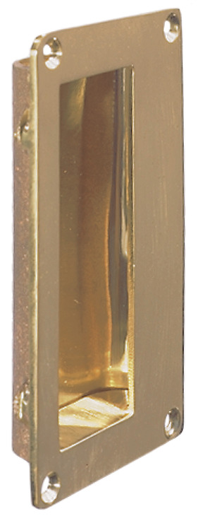 brass HAFELE Flush pull handle