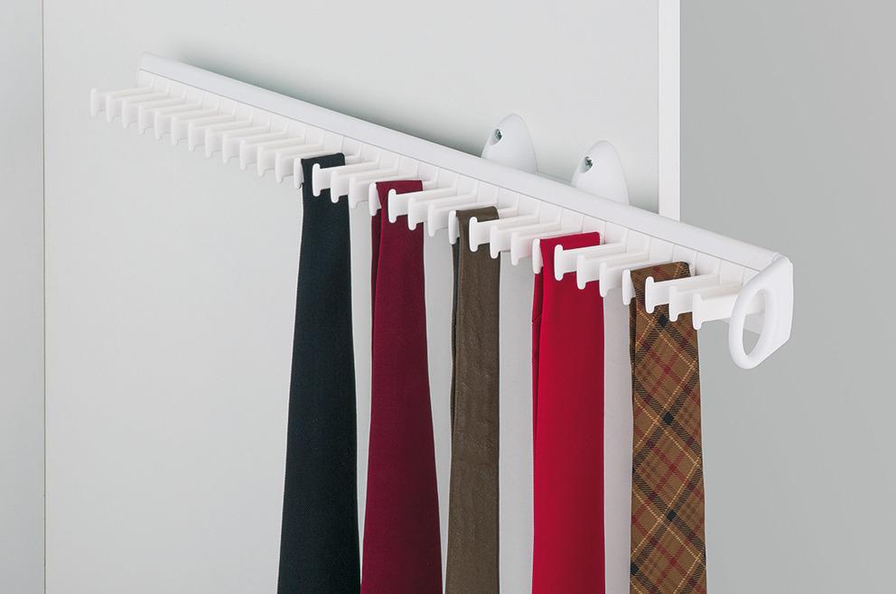 pull out tie rack depth 505 520 mm h fele u k shop. Black Bedroom Furniture Sets. Home Design Ideas