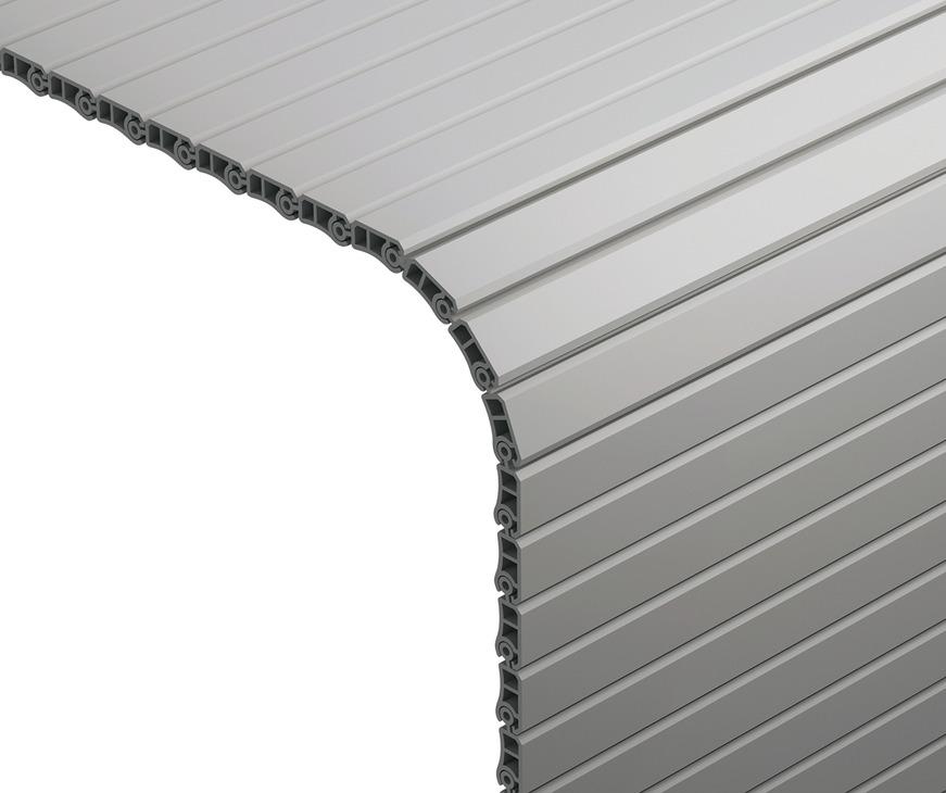 Roller Shutter for Tambour Doors Plastic