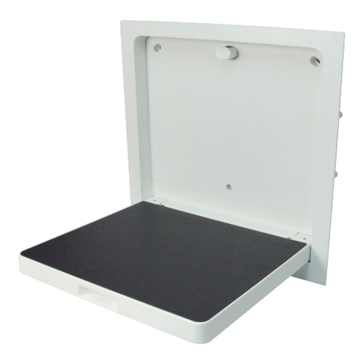 Shower Seat, Drop Down, Programma Cap Range, PBA - Häfele U.K. Shop