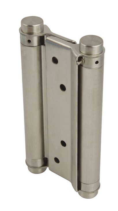 Spring Hinge Double Action 168 X 63 Mm Stainless Steel