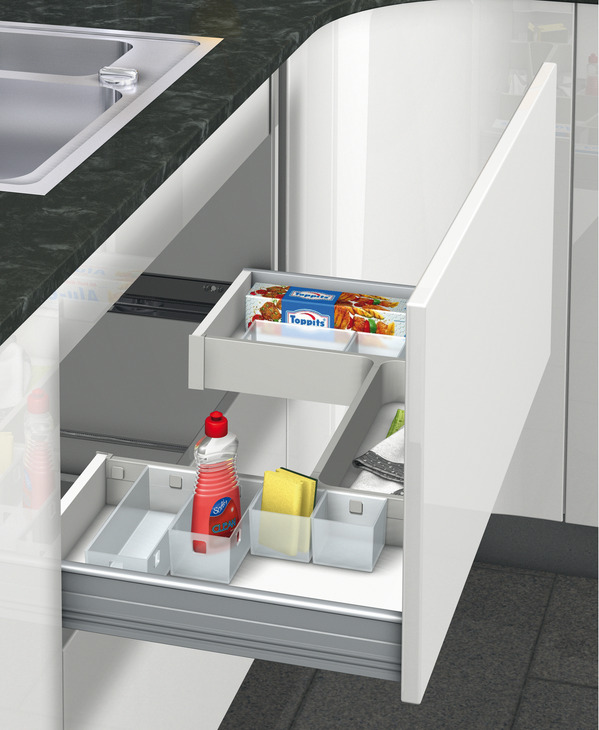 The Ideal Kitchen Under Sink Drawers: Storage System For Under Sink Drawers, H Frame Set, Ninka