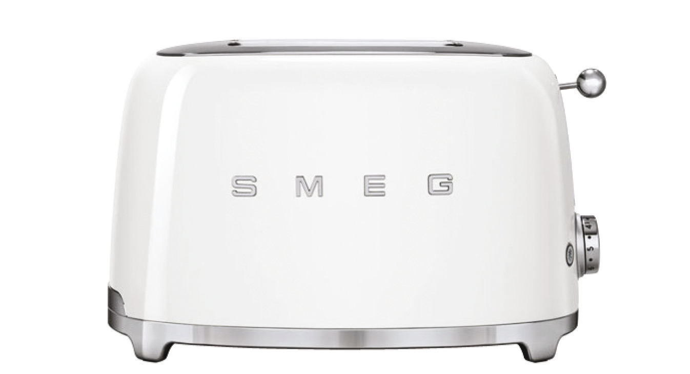 Toaster Two Slice With Two Large Slots Smeg 50 S Retro