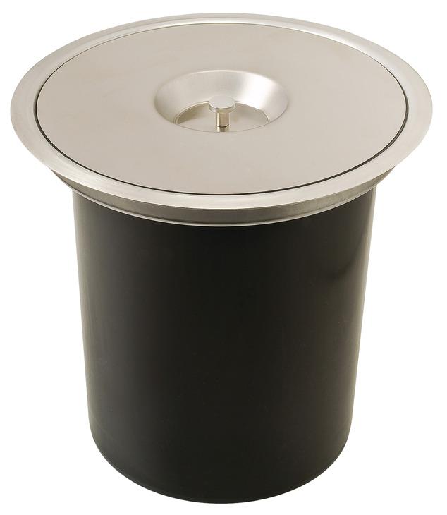 Worktop Waste Bin Capacity 11 Litres H 228 Fele U K Shop